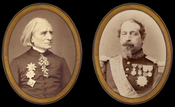 Royal Majesties around Franz Liszt